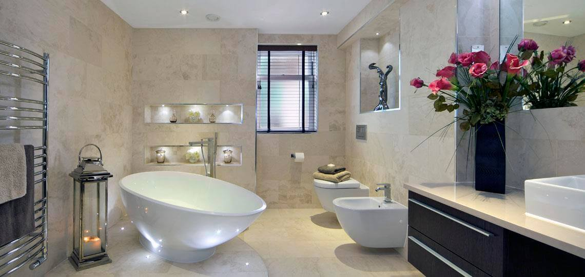 8 – Builders in Kent for Elegant Bathrooms