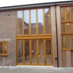 Modern windows with a traditional feel