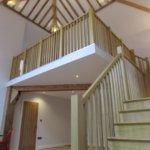 Centrepiece staircase & landing