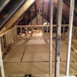 Loft conversion underway