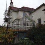 Extensive scaffolding