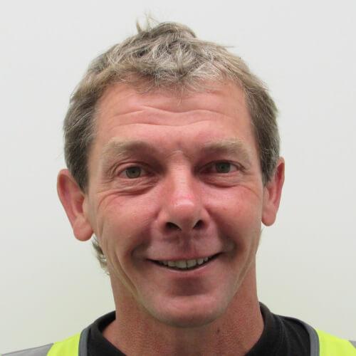 Peter Hunnisett – Site manager