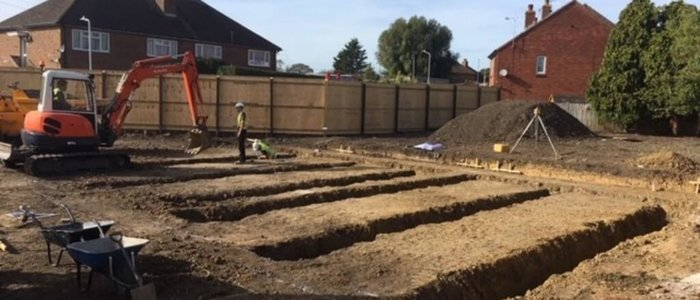 Construction of New Build Dwellings in Folkestone, Kent