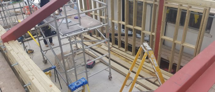 Modernising Refurbishment to old Rectory (1)
